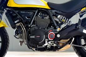 ridea carbon engine case cover for all ducati scrambler series