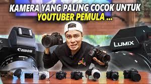 UNTUK MENJADI YOUTUBER HARUS PUNYA KAMERA !! KAMERA APA YANG PALING COCOK UNTUK  YOUTUBER PEMULA ?? - YouTube