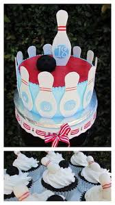 Bowling Pin Cake Decorations bowling cake Cake Birthday cakes and Cake designs 76