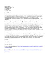 Cover Letter For College Instructor Letter Idea 2018