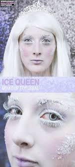 ice queen makeup tutorial ice makeup ice queen makeup elf costume cool costumes