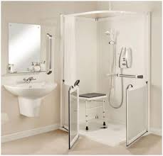 disabled baths showers. all in one shower enclosures with half height doors disabled baths showers