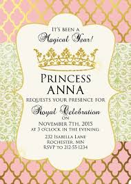 Birthday Party Invitation Princess Birthday Party Invitation Birthday Party Invitations