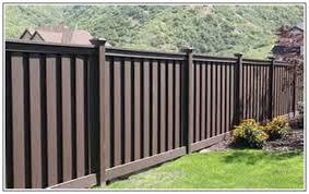 brown vinyl fence. Vinyl Fence Design Brown Fences Wallpaper. ««