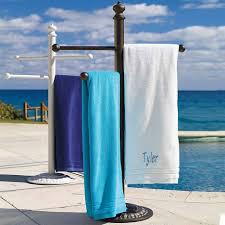 standing towel rack outdoor