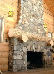 faux stone fireplace stone fireplace kits rustic log cabin fireplace project with thin natural stone veneer