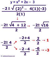 quadratic equations quadratic equation
