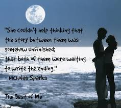 """Nicholas Sparks- """"The Best of Me"""" Quote 