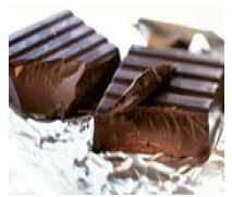 Zartbitterschokolade abnehmen