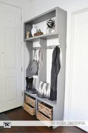 prepac ashley shoe storage bench white. modren bench profile view of the design confidential free woodworking plans to make an  entry way locker system with prepac ashley shoe storage bench white