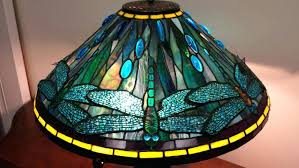 dragon fly tiffany lamps lamp shade value stained glass lampshade patterns hanging floor replacement shades only