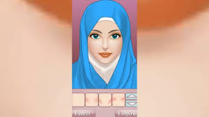 permainan hijab make up salon