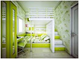 Artistic Bedroom Ideas For Teenage Girls With Green Colors Theme And