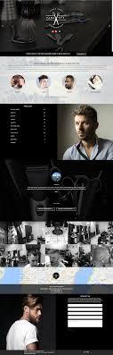Barber Shop Website Barber Shop Website Clean Minimal Modern Web Design Project 4