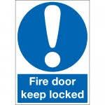 please lock door. Essential Fire Safety \u0027keep Door Locked\u0027 Signs Please Lock