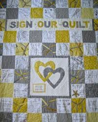 another idea for wedding quilt | quilting | Pinterest | Wedding ... & Close up of wedding guest book quilt for my son and daughter in law. Guests Adamdwight.com