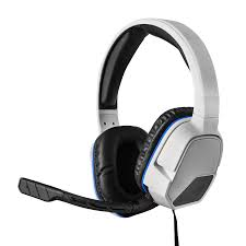 images of playstation 3 afterglow wired headset by pdp wire afterglow lvl 3 wired headset for playstation 4 white afterglow lvl 3 wired headset for playstation 4 white