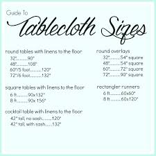 what size tablecloth for 8 foot table standard tablecloth sizes oval top best tablecloth sizes ideas