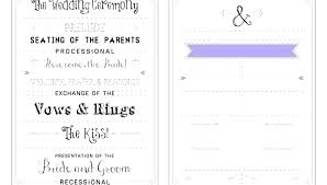 Church Program Templates Free Download Wedding Fans Programs Program Template Invitation Free