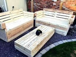 outdoor furniture with pallets. Unique Outdoor Furniture Pallets Or Recycled Pallet Garden Seating Set 33 Build With N