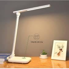 Đèn Để Bàn Học LED – 03 Chế Độ Ánh Sáng Vàng Bảo Vệ Mắt Chống Cận -- USB Di  Động Cao Cấp Có Thể Gập Hai Chỗ _miDoctor