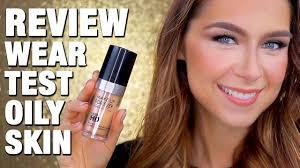 mufe ultra hd foundation review oily skin wear test