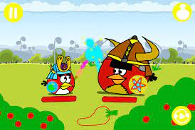 Angry Birds Epic - Red vs. Terence (with buttons) by YoshiBowserFanatic on  DeviantArt