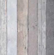 Wood Vinyl Removable Shiplap Wallpaper ...