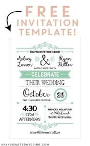 Free Downloadable Wedding Invitation Templates FREE Printable Wedding Invitation Template Free wedding 2
