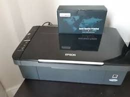 I'm having problems with this pile of epson :toilet: Epson Stylus Sx105 Printer Scanner Free 11pc Ink Faulty Black Printing Ebay