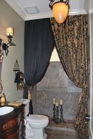 guest bathroom designs decorating ideas hgtv rate my space i like the idea using 2 different curtains bathroom decorating ideas shower curtain e87 decorating