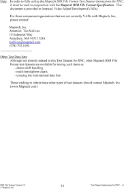 Maptech Bsb File Format Test Dataset Instructions For Rnc