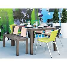 contemporary cb2 patio furniture. plank dining table in outdoor furniture cb2429 contemporary cb2 patio