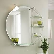 home ultra magnum round bathroom mirror light