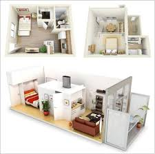Small Apartment Floor Plans One Bedroom One Bedroom Apartment Plans And Designs Studio Apartment Plans