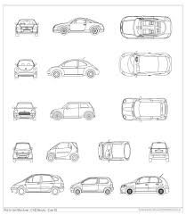 Car Design In Autocad 2d Pin On Autocad