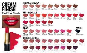 Revlon Super Lustrous Lipstick Colour Chart Revlon Super Lustrous Lipstick With Vitamin E And Avocado Oil Cream Lipstick In Violet 046 Bombshell Red 0 15 Oz