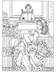 A Little Princess Coloring Book Dover Publications Coloring The