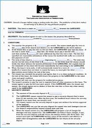 Free Landlord Lease Agreement Template Good Free Pennsylvania