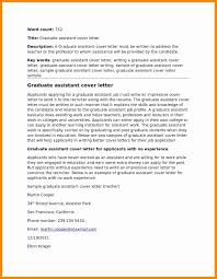 Work Experience Cover Letter Cover Letter For Graduate With No Experience