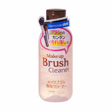 dels about daiso an make up brush cleaner removes dirt detergent 150ml