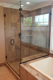 corner shower door frameless oil rubbed bronze tub notch shower door experts