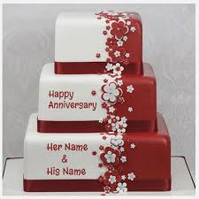 Name Cake For Anniversary Birthdaycakeformenga