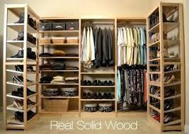 wood closet shelving solid wood closet organizers wood closet shelving diy