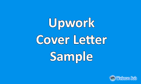 Upwork Cover Letter Samples Examples And Format