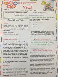 october newsletter ideas october newsletter 2015 little steps montessori clarina