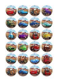 Cars Cupcake Toppers Printables Google Zoeken Alexandru Room