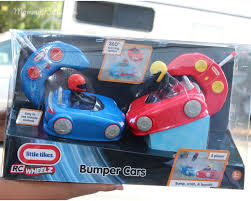 RC Fun with Little Tikes RC Wheels Bumper Cars | Mommy Katie