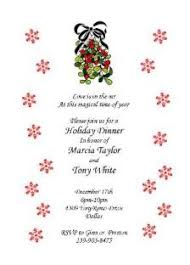 Christmas Dinner Party Invitations 2015