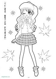 Cute Coloring Pages To Print For Girls Anime Chibi Girl Kids 47866